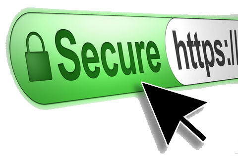 Example of positioning with SSL certificate according to Google