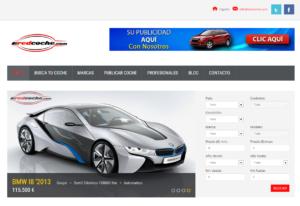 diseño web coches
