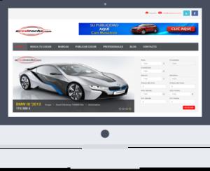 pagina web para coches