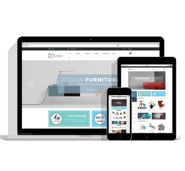 Tienda online para empresa de decoración y muebles