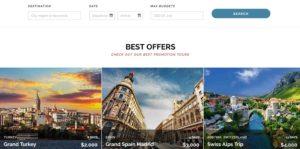 pagina web de viajes