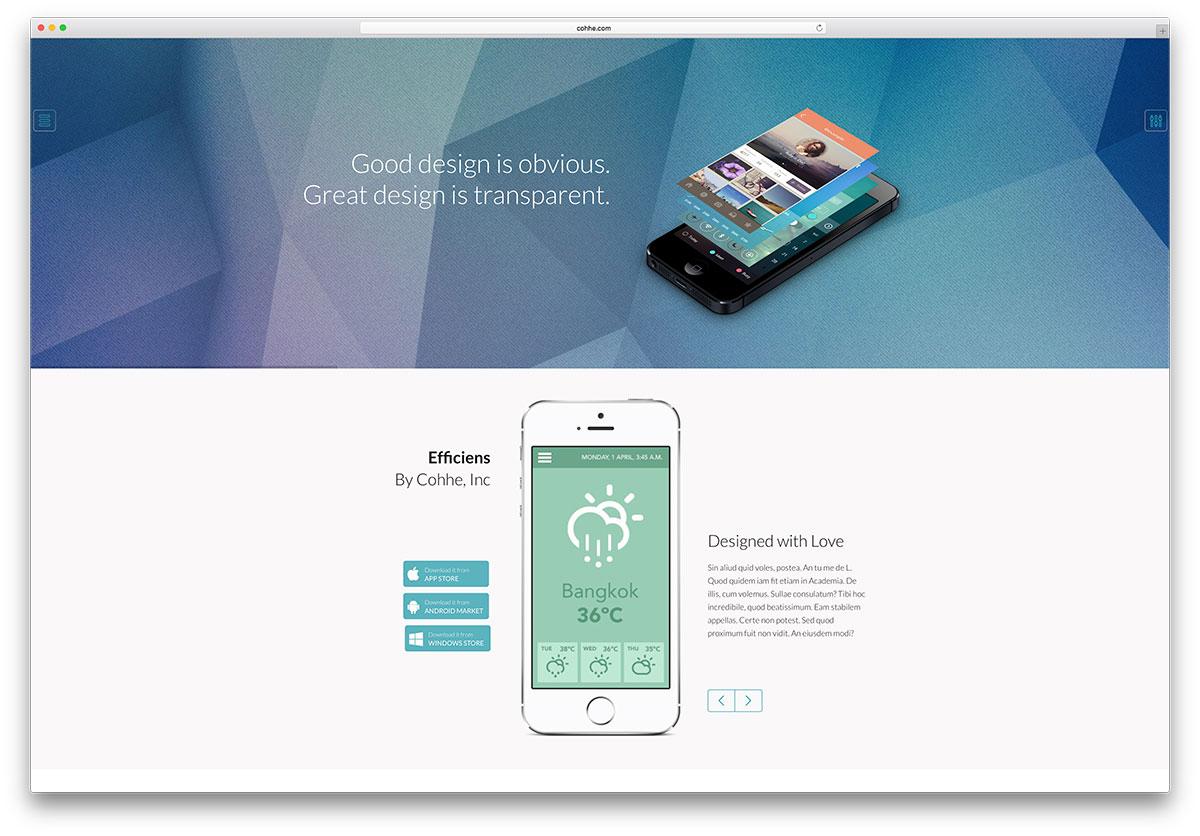 app con tecnología web