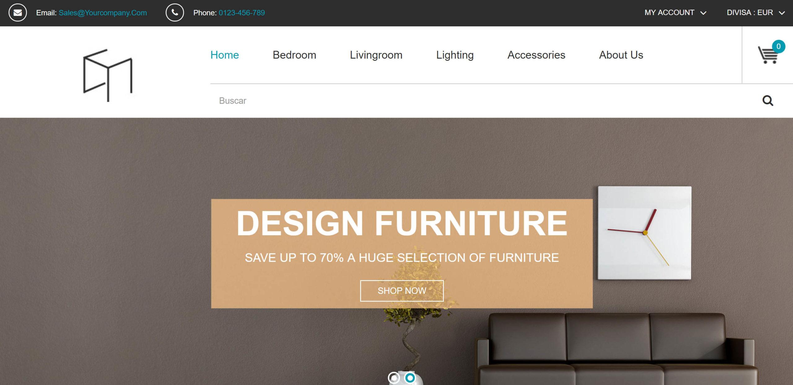 Design von Möbelhäusern