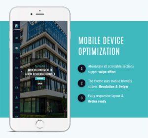diseño inmobiliaria para móviles