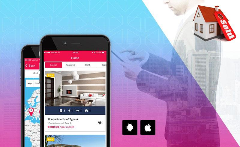 diseño app inmobiliaria