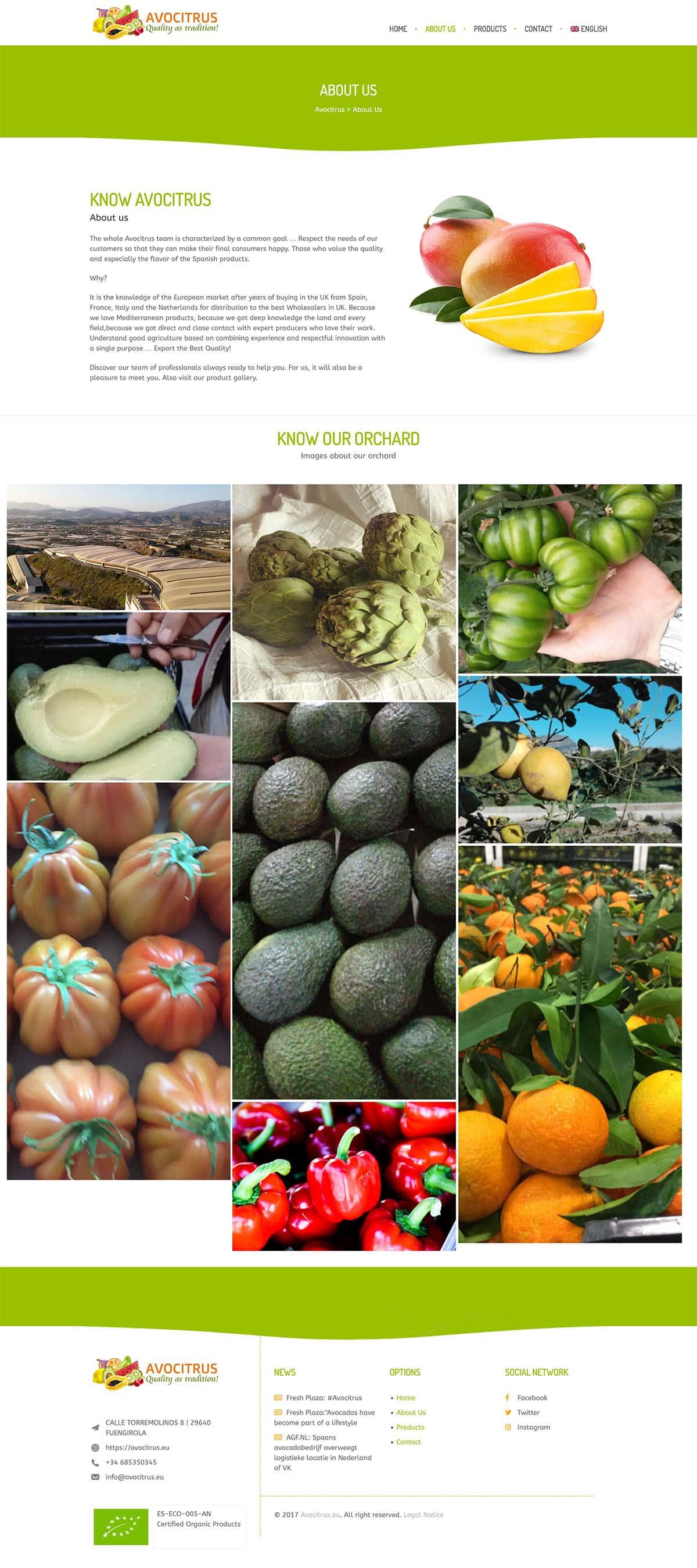 magasin de commerce électronique pour l'agriculture