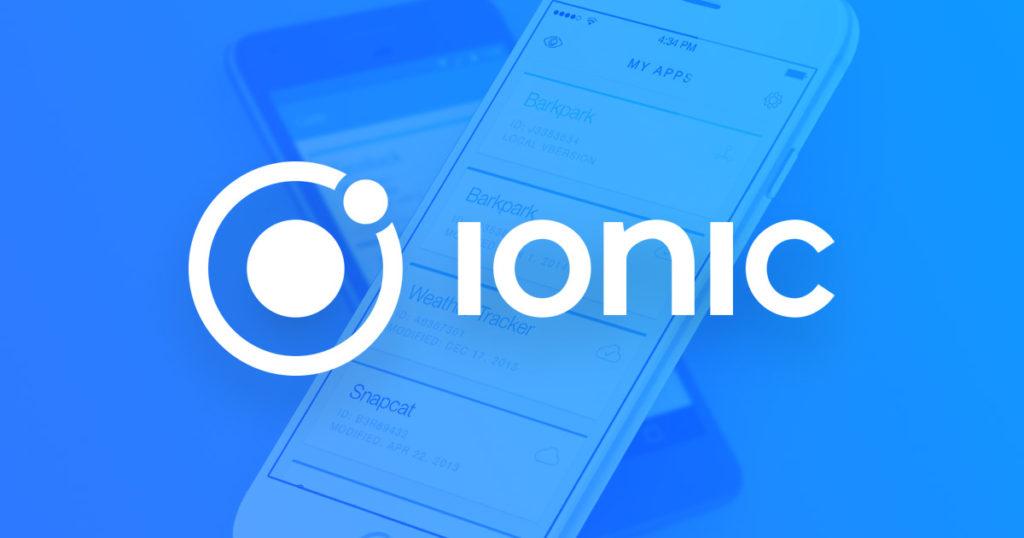 desarrollo apps ionic