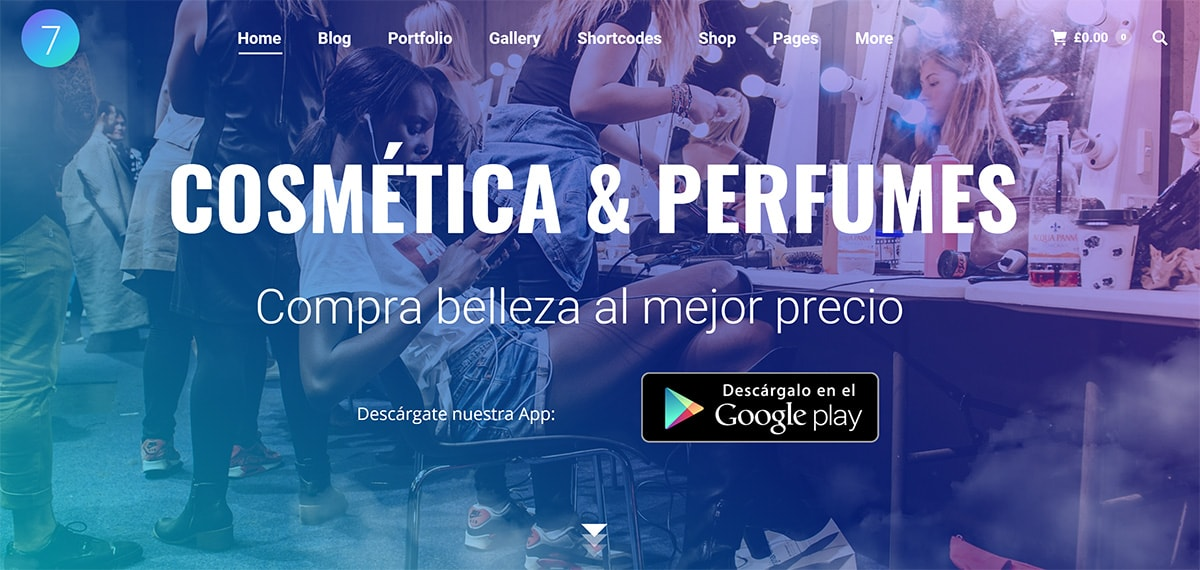 E-commerce for cosmetics and perfume stores