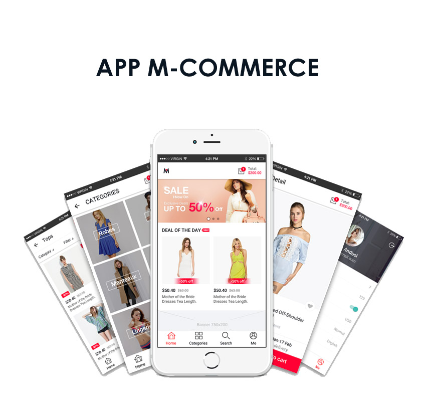 app m-commerce