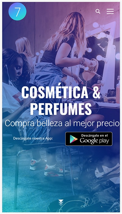 m-commerce development cosmetic