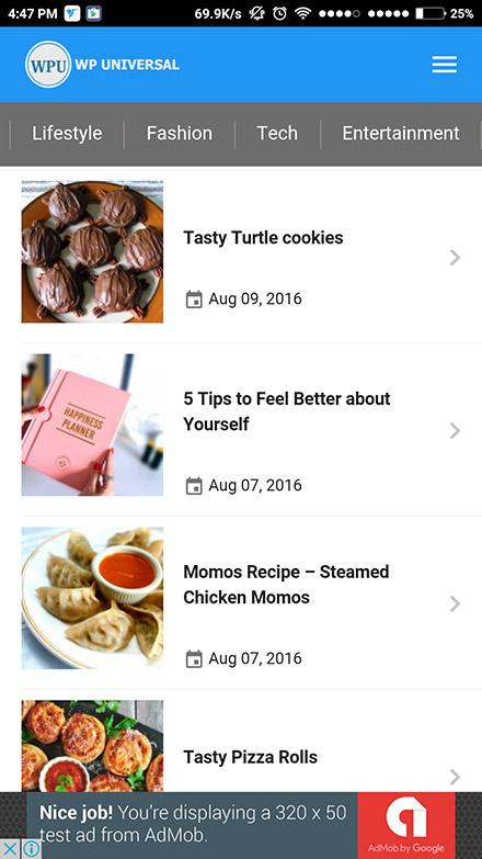 Blog-Anwendung 1