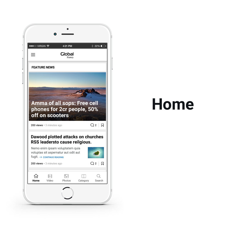 blog app 4