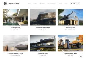 Portfolio for architecture studios