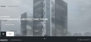 Website design for architecture studios
