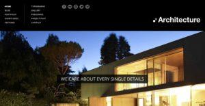 diseño página web arquitectura