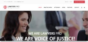 diseño web abogados
