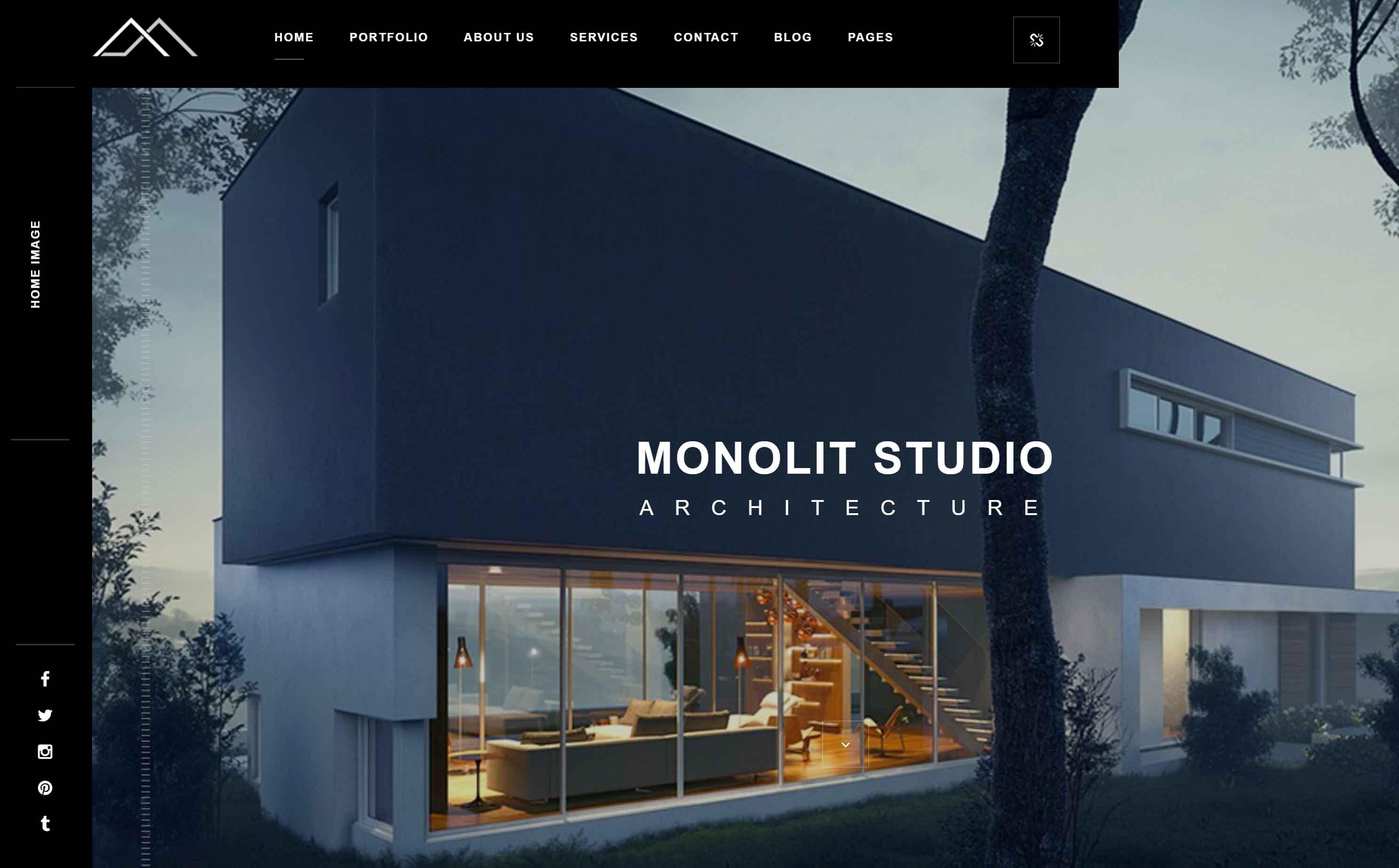 Dise o de p gina web para un estudio de arquitectura for Empresas de arquitectura