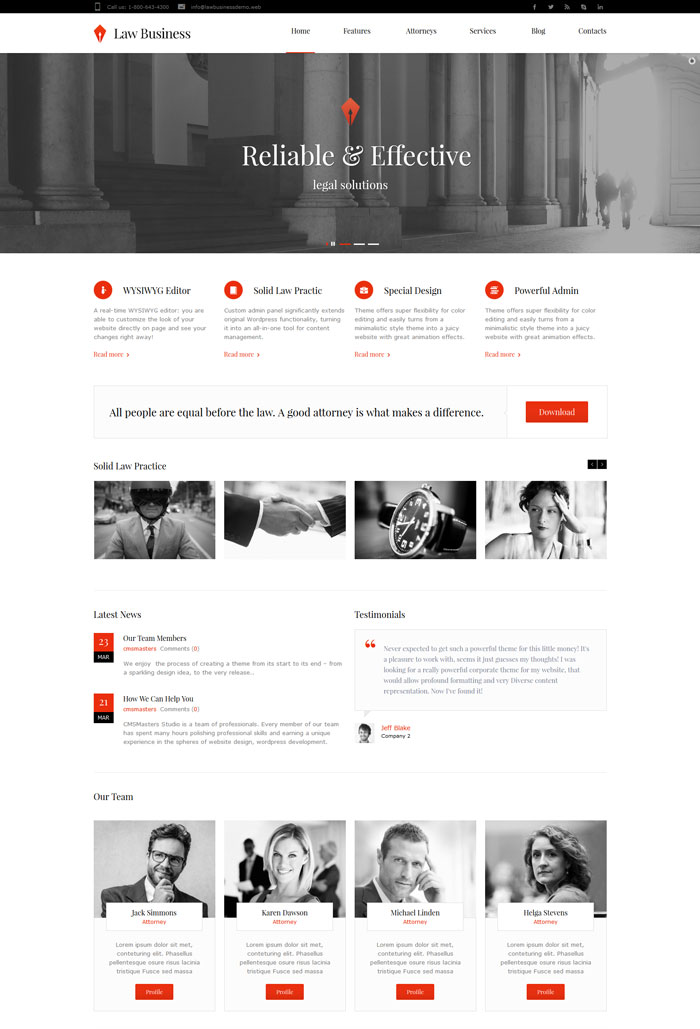 web design for lawyer