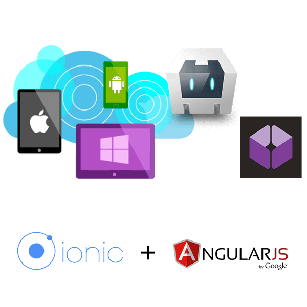 Ionic Framework and angular for Applications