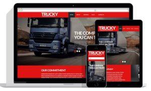 Website design for transport and logistics companies