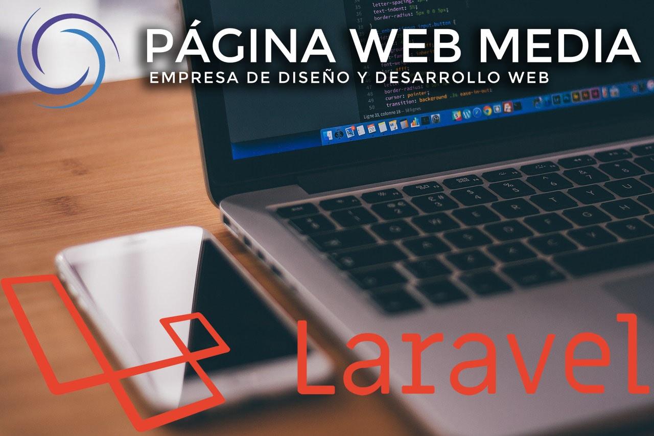 société de développement de sites Web à Laravel