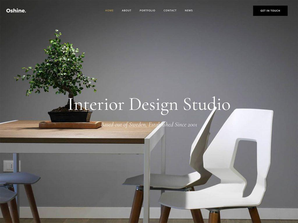 Diseño de landing page de interiorismo