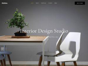página web para diseño e interiorismo