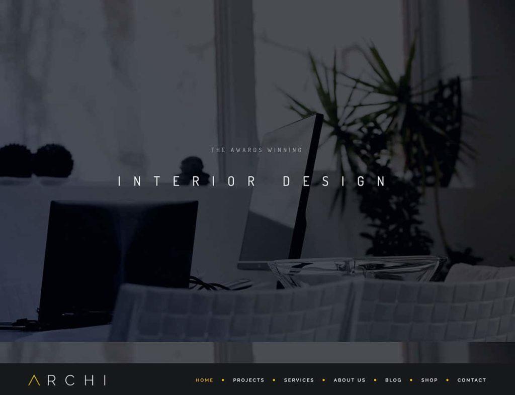 theme wordpress interiorismo