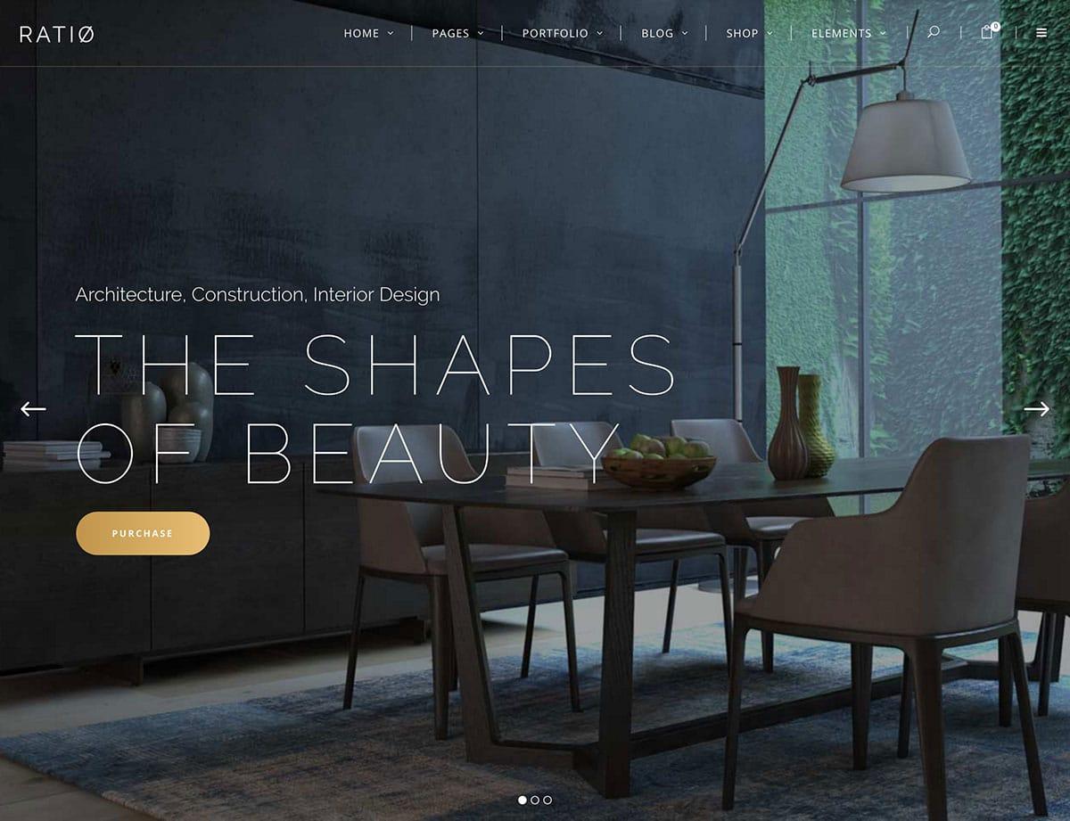 web interior design