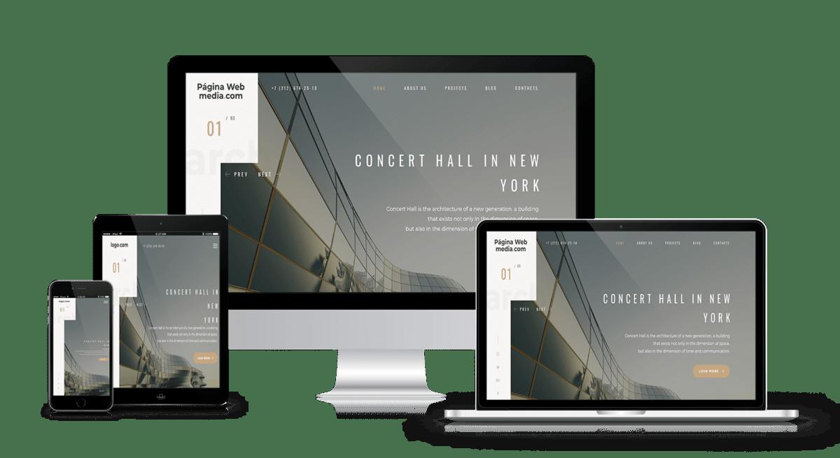 Diseño web para arquitectos y decoradores