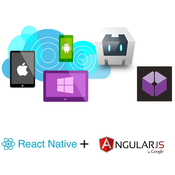React Native and angular for Applications