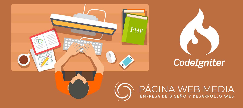 Crear página web con Codeigniter