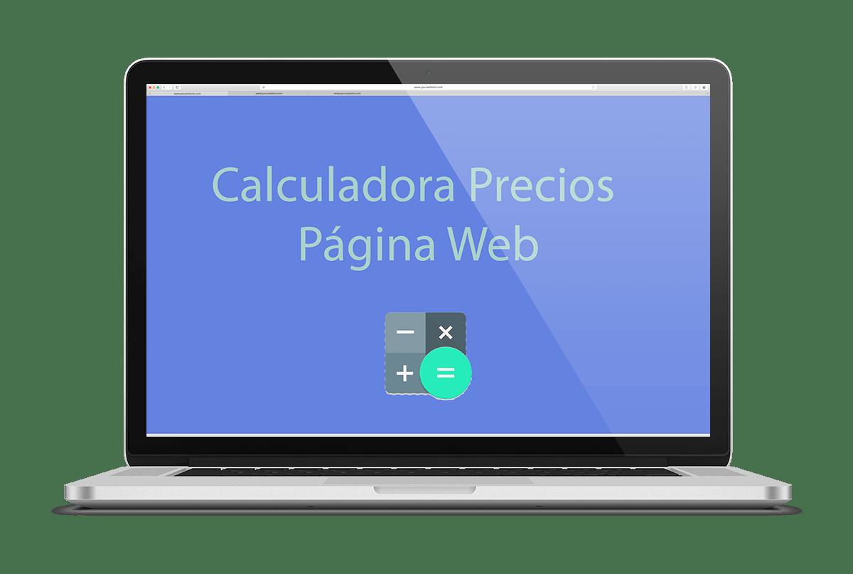 calculadora precio página web
