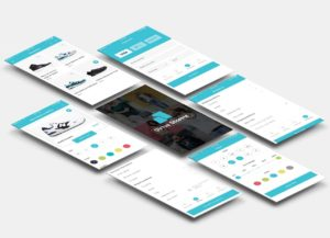 Design of mobile applications with ux ui