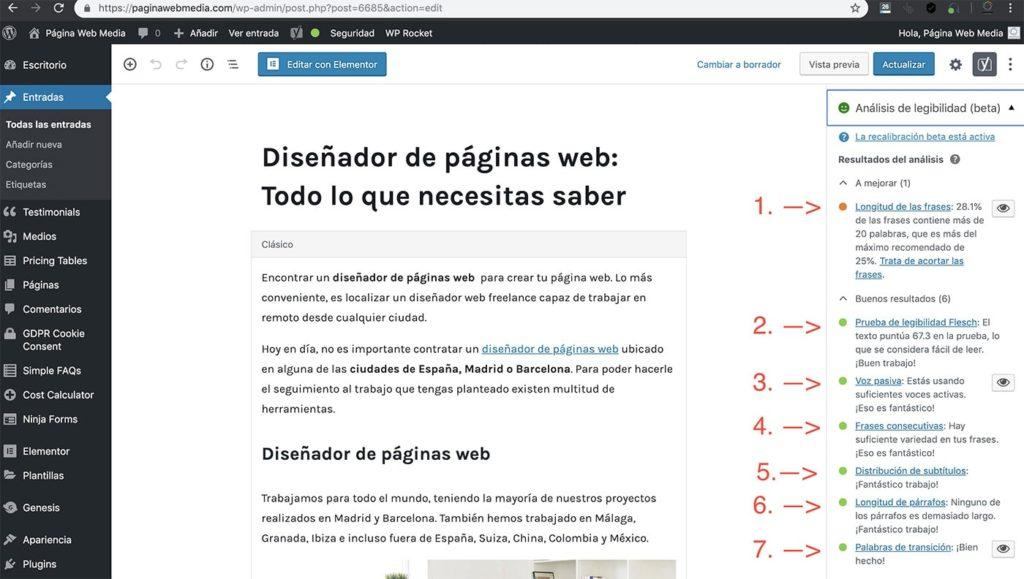 Redactores de contenidos web