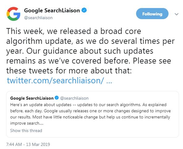 Algorithmus ändert Google Florida 2