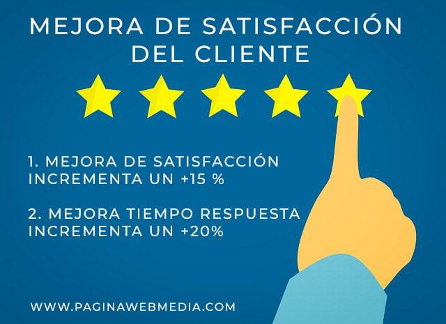 mejorar satisfacción cliente