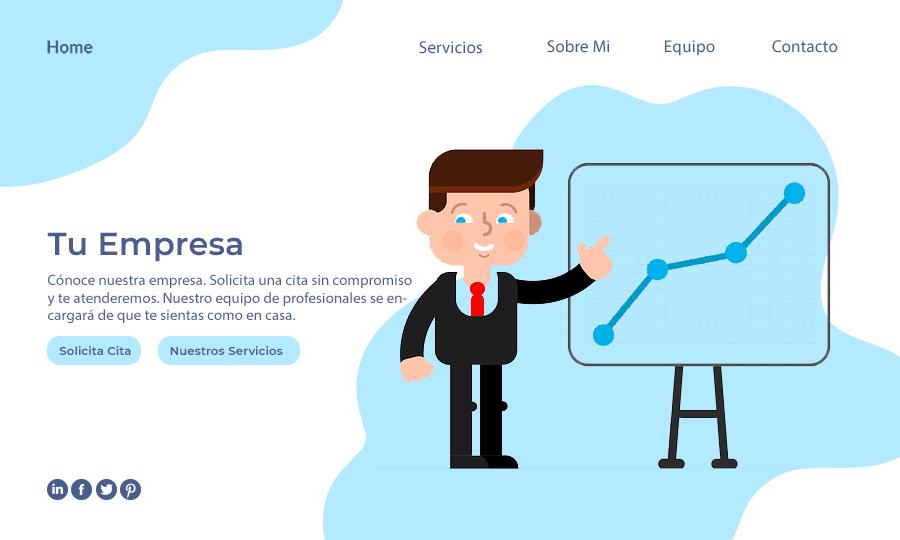 Desarrollo web para empresas