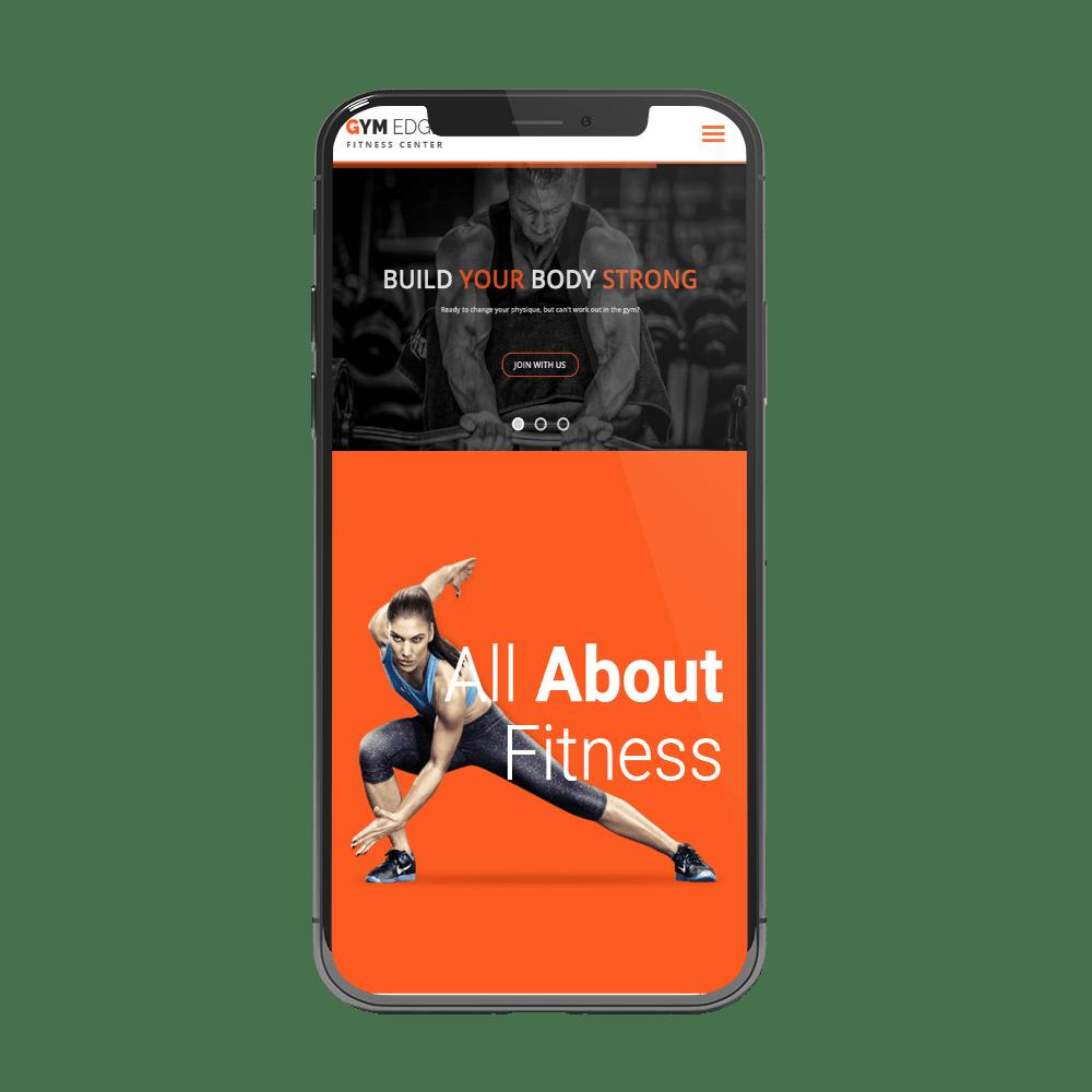 Diseño app para gimnasios, fitness y entrenadores