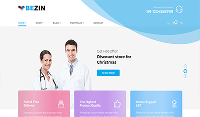 Conception du site web d'une clinique dentaire