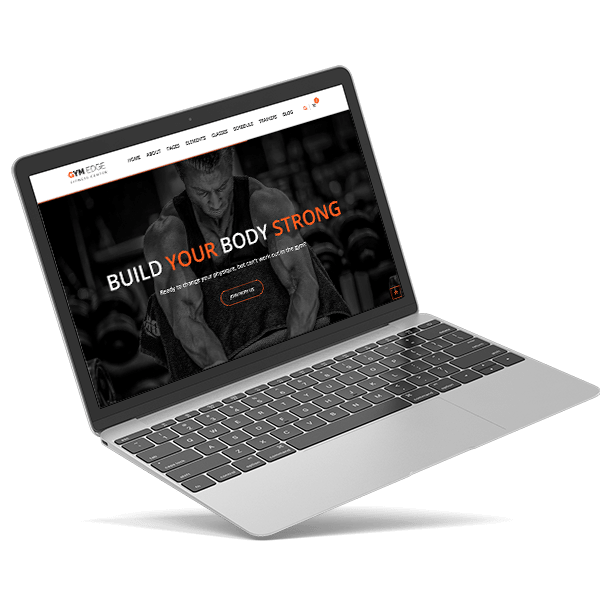 Web design for gyms and trainers