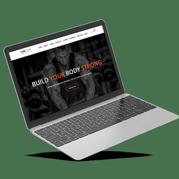 Diseño web para gimnasios y entrenadores