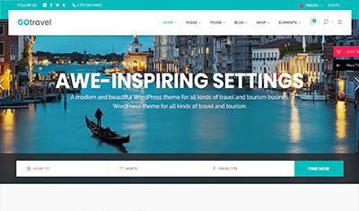 Web design for tour guides