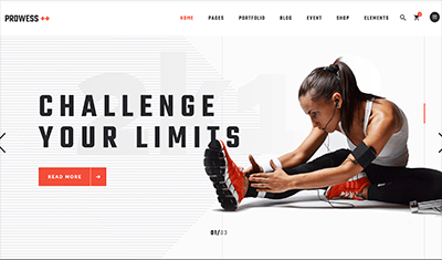 Website designs sport