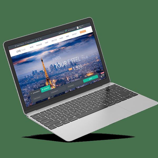 Diseño páginas web agencias de viajes