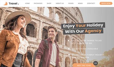 Diseño páginas web de tours