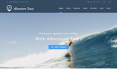 Diseño páginas web empresas tours