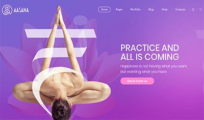 Ejemplos páginas web pilates