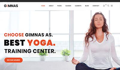 Ejemplos páginas web yoga