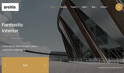Ejemplos web diseño interior
